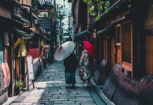 日本のカップル